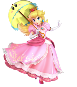 SSB Ultimate Peach with Perry