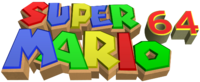 Super Mario 64 New Logo