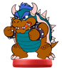 Amiibo Blue Bowser