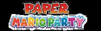 Paper Mario Party Logo