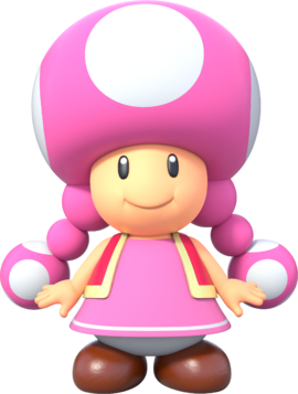 Toadette - New Super Mario Bros U Deluxe