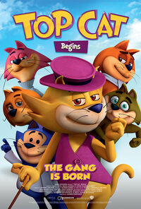 Top Cat Begins UK 2016 Poster