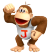 Donkey kong jr render by nibroc rock-dax3k9c