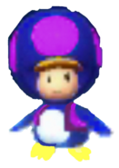 Penguin Purple Toad
