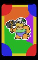 Sledge Partner Card