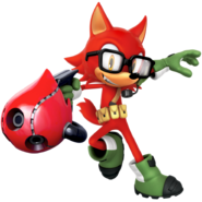 Sonic Forces Avatar - Wolf 1