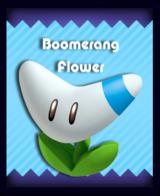 Super Mario & the Ludu Tree - Powerup Boomerang Flower