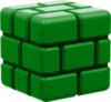 BrickBlock DarkGreen