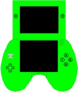 NintendoGoBeautifulGreen