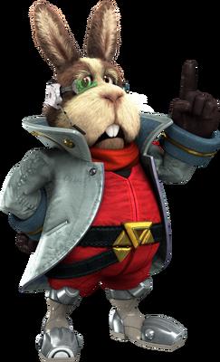 Peppy Hare - Star Fox Zero
