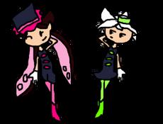 Splashdown Squid Sisters