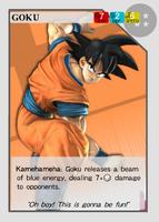 SuperSmashCards Goku