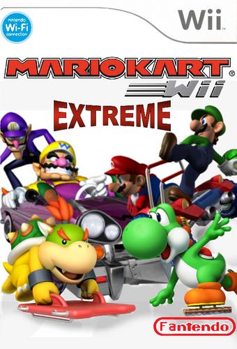 Mario Kart Extreme Fantendo Nintendo Fanon Wiki Fandom