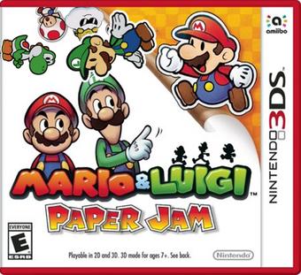 Mario Luigi Paper Jam Patch Fantendo Nintendo Fanon Wiki