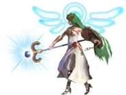 0.6.Palutena Striking with her staff