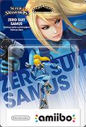Amiibo - SSB - Zero Suit Samus - Box