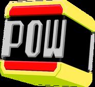 Red POW Block Hat Model
