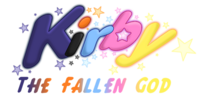 Kirby the Fallen God Logo