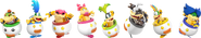 SSBRiot BowserJr and Koopalings