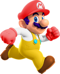 Super Saying Mario Ruptured Sect