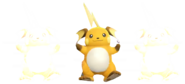 0.5.Raichu using Quick Attack