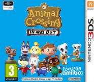 Animal Crossing In and Out cover - 3DS