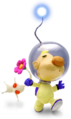 Louie w/ White Pikmin