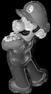 Metal Luigi MGC 2
