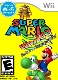 Super Mario World 3 boxart