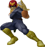 Captain Falcon the awesome