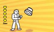 Karate Man Flows!