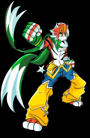 Tigzon the TigerStar - Character art (2019 design)
