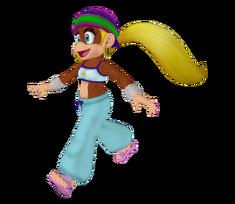 Wii - Super Smash Bros. Brawl - Tiny Kong Trophy