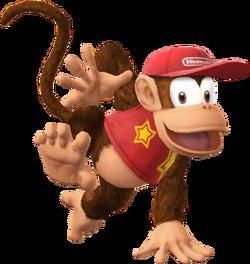 Diddy Kong T SSB4
