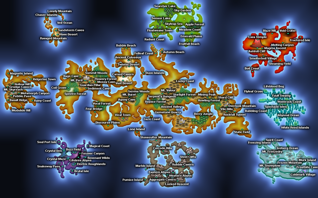 Era of Growth Dungeons