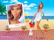 Seaside beauty-grace