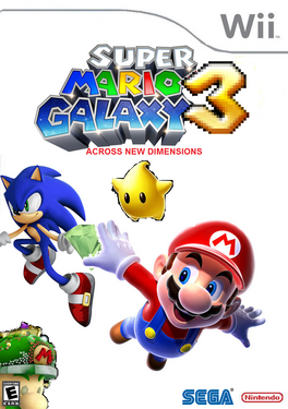 Super Mario Galaxy 3 Across New Dimensions Cover