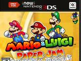 Mario & Luigi: Paper Jam: Director's Cutout