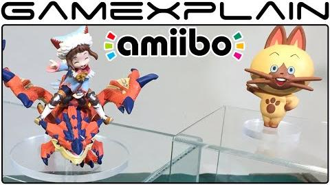 Amiibo for Monster Hunter Stories Announced Japanese Release Date