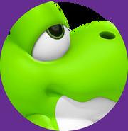 Lime Green Baby Yoshi jade