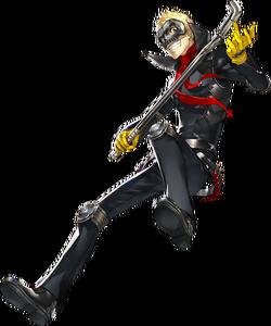 P5 Ryuji Sakomoto, Phantom Thief