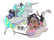 Unicorn Narwhal Off The Hook