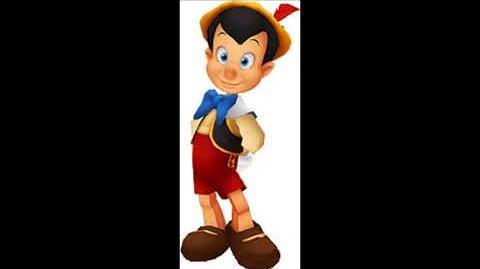 Kingdom Hearts - Pinocchio Voice Clips