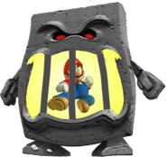 Mario in whomp