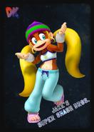 Tiny Kong - JSSB amiibo card
