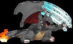 0.4.Shiny Charizard slashing