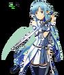 Sword Art Online Asuna Yuuki Kakoiii Battle ALO Render
