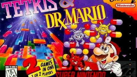 Tetris & Dr Mario Music - Dr Mario Game Over