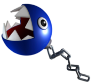Blue Chain Chomp Art