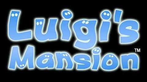 Menu Screen (Luigi's Mansion)